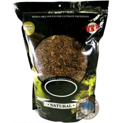 Ohm Natural Pipe Tobacco 16 Oz Bag On Sale