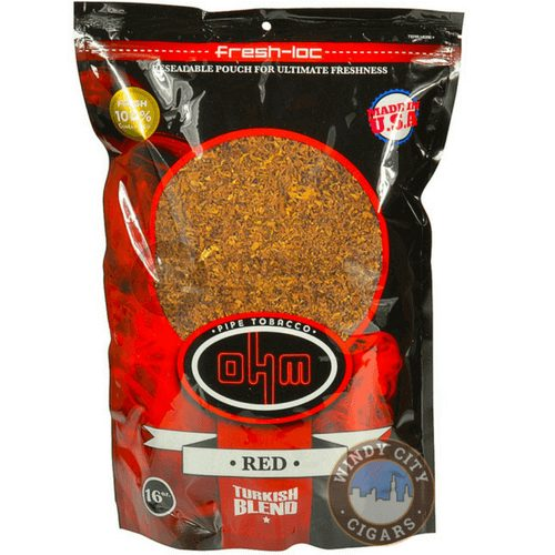 Ohm Pipe Tobacco Turkish Red 1lb Bag Low Prices