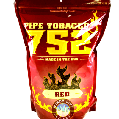 752° Pipe Tobacco Red