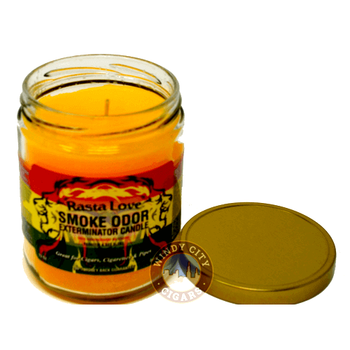 smoking candle