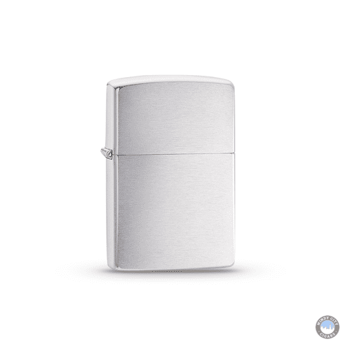 Zippo – Brush Finish Chrome