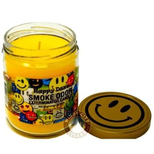 smoking candle