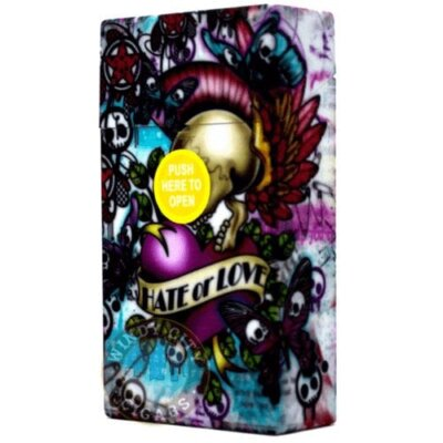 Flip Top Cigarette Case