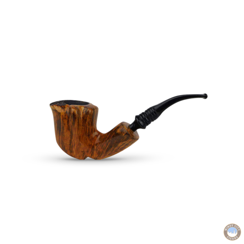Erik Nording Pipe – Black Grain #3