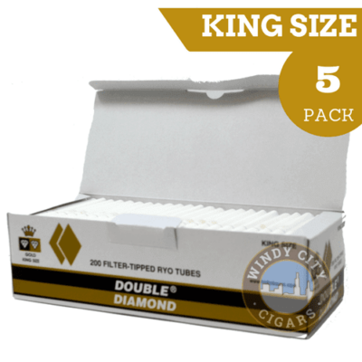 Double Diamond Cigarette Tubes