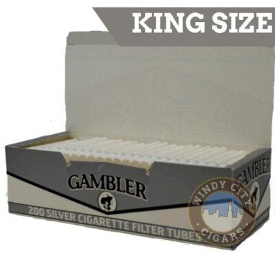 Gambler silver king size tubes
