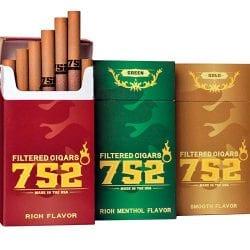 752 Filtered Cigars