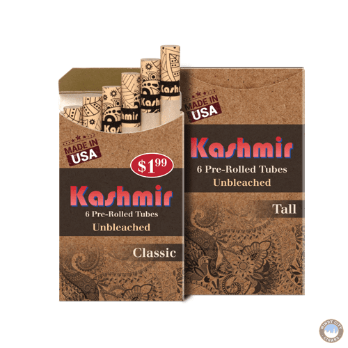 Kashmir Pre-Rolled Tubes – Unbleached