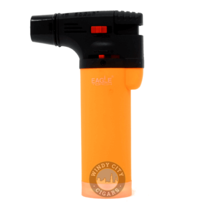 Orange eagle torch lighter