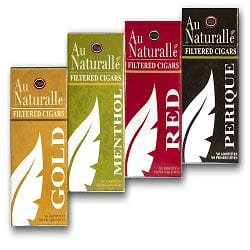 Au Naturalle Filtered Cigars