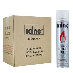 King Butane Refill For Lighters
