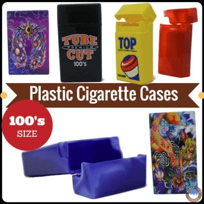 100's Plastic Cigarette Cases