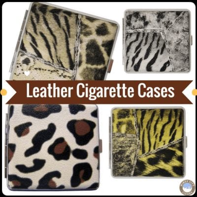 King Size Leather Cigarette Cases
