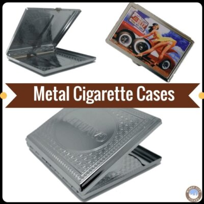 100's & King's Metal Cigarette Cases