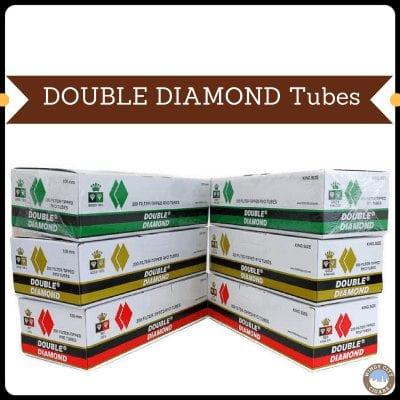 Double Diamond Cigarette Tubes