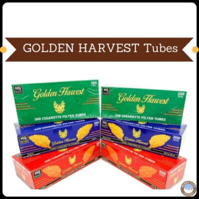 Golden Harvest Cigarette Tubes