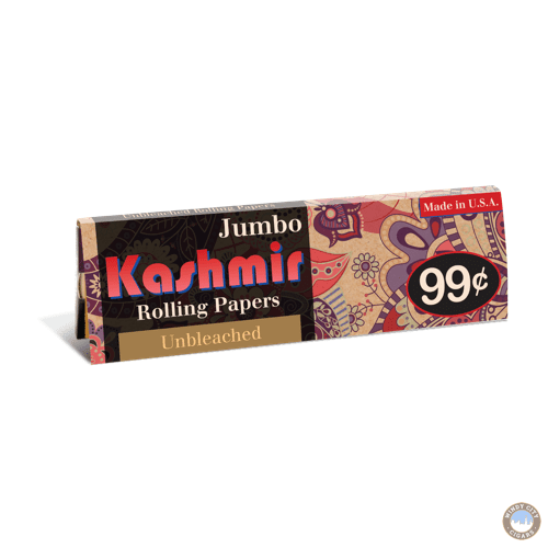 Kashmir Rolling Papers – Unbleached Jumbo