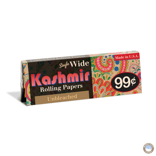 Kashmir Rolling Papers – Unbleached Single Wide