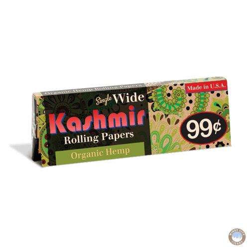 Kashmir Rolling Papers - Organic Hemp Single Wide