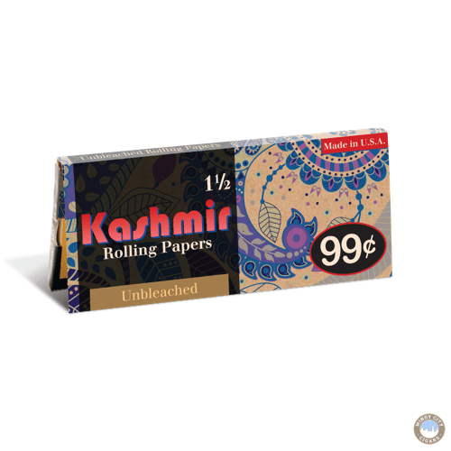Kashmir Rolling Papers – Unbleached 1 1:2
