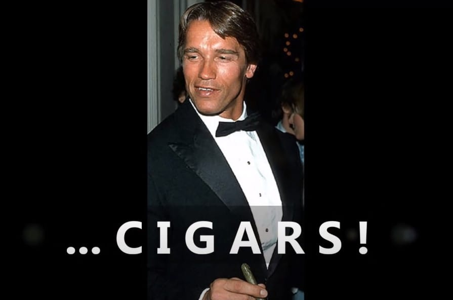 Arnold and Cigars