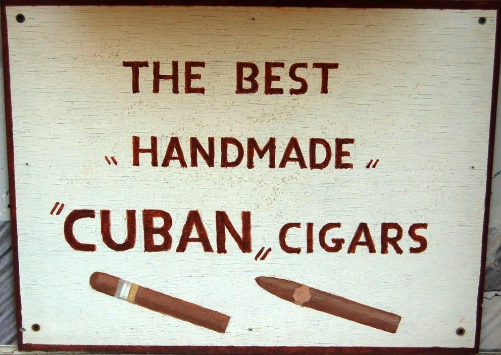 Cohiba handmade cigars