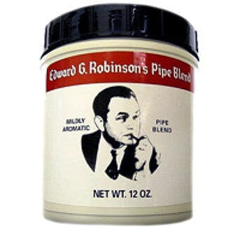 Edward G. Robinson pipe tobacco