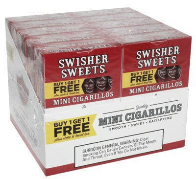 Swisher Sweets mini cigarillos sweet twin pack