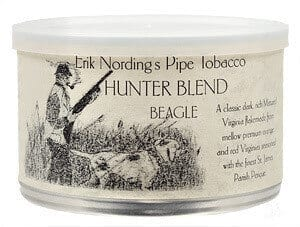 Erik Nording pipe tobacco in 5 Hunter blends