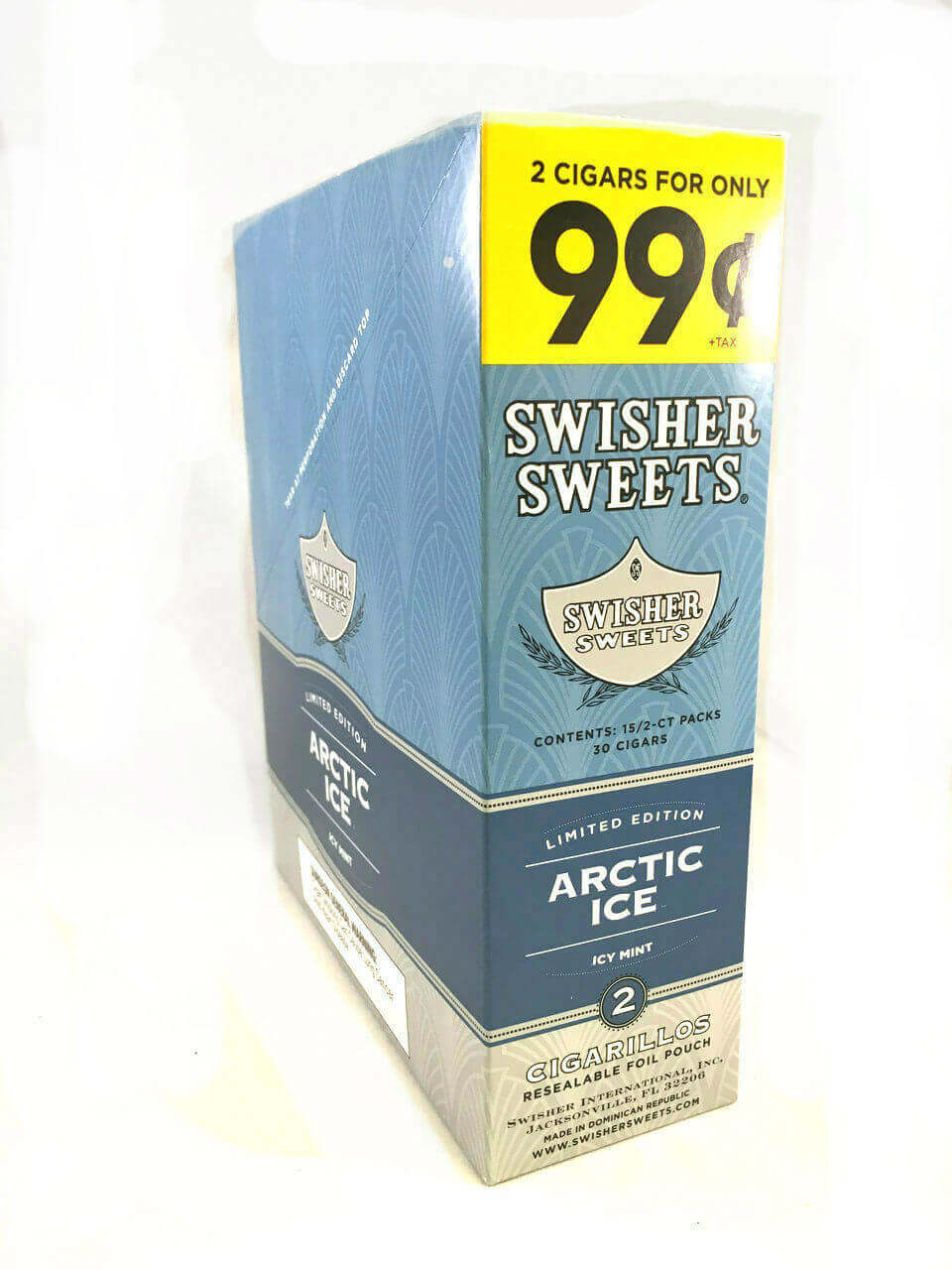 Swisher Sweets Cigarillos 99 Cent Pre Priced 30 Packs of 2 Cigars Summer  Twist - Cigars - Tobacco Products - TobaccoStock.com