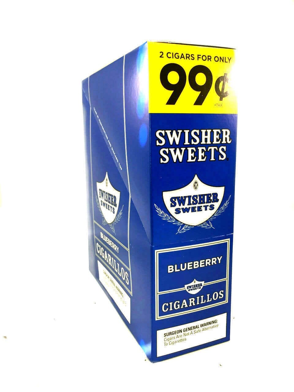 Swisher Sweets Blueberry Cigarillos Pack of 15