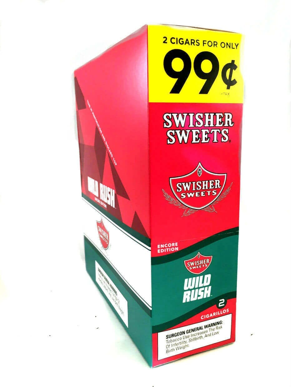 Swisher Sweets Wild Rush Cigarillos Pack of 15
