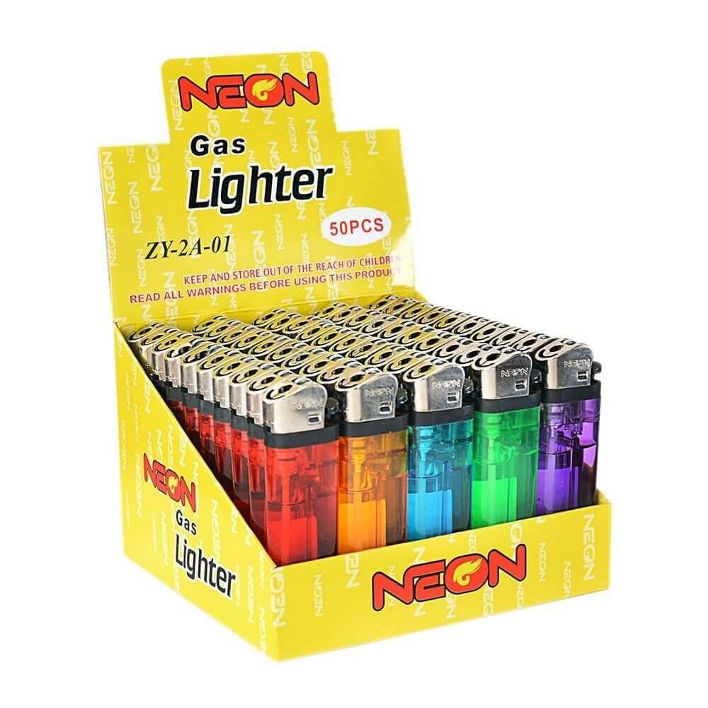 Neon Lighters 50ct
