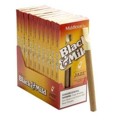 Black and Mild Cigars - All Black n Mild Flavors - Wood Tip